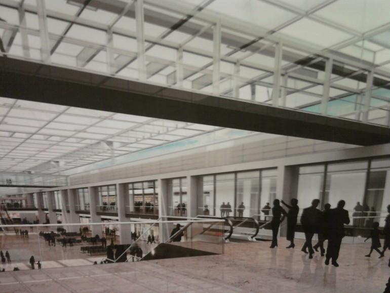 Hauptproblem Entrauchung - Flughafen BER Innenansicht Simulation: Airport World