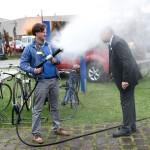 Löschvorführung Fog-Tec