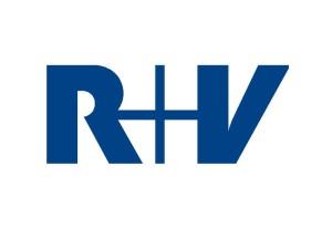 R+V Logo 2013 Hintergrund weiss
