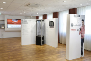 Ausstellungsräume bei Ei Electronics, Düsseldorf