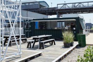 Das BRLO am Gleisdreieck - noch ist es ein Provisorium (c)Ulf Saupe / Done Studios Berlin Design by NOVONO