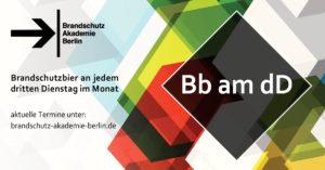Farbige Grafik als Banner mitEselsbrücke für neues Format für das Berlin-Brandenburg Brandschutz-Bier
